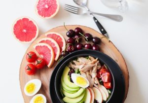 Microbiota healthy food